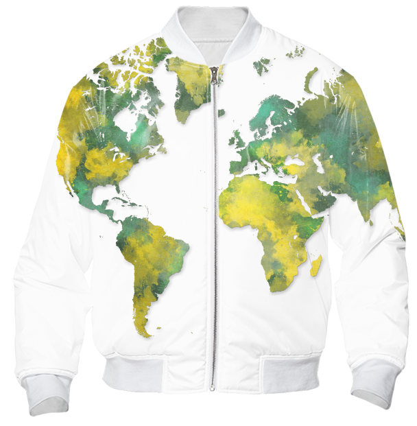 Shop world map bomber jacket bomber jacket by jbjart print all over me shop world map bomber jacket bomber jacket by jbjart print all over me gumiabroncs Gallery
