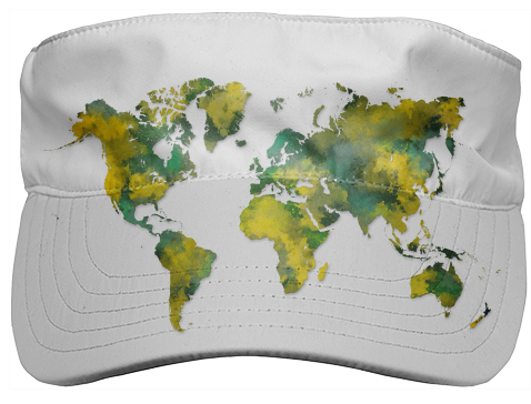 Shop world map hoodie hoodie by jbjart print all over me world map visor 4800 by jbjart gumiabroncs Image collections